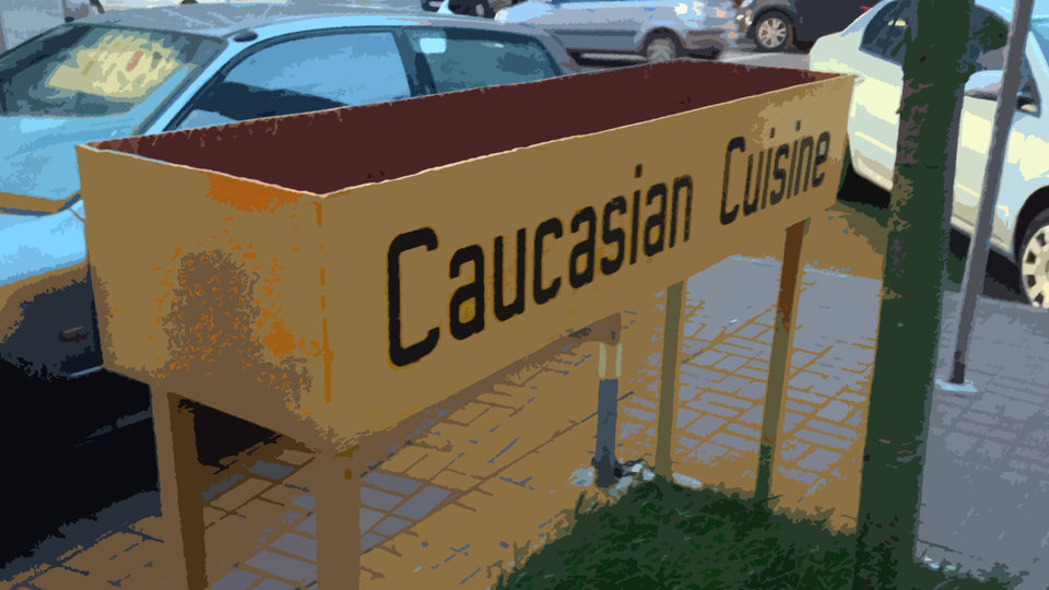Caucasian Cuisine and An Adoption